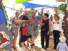 Opening of the Gracemere playground. Photo Allan Reinikka / The Morning Bulletin