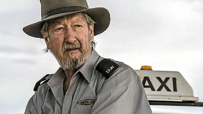 Michael Caton as Rex the Cab Driver in a scene from the movie Last Cab to Darwin.