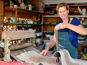 Motherhood freed Sarah to pursue artistic passion