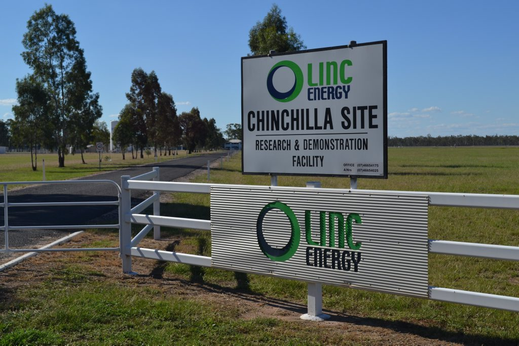 The Government has accused Linc Energy of allowing gas to leak uncontrollably from its Chinchilla plant.