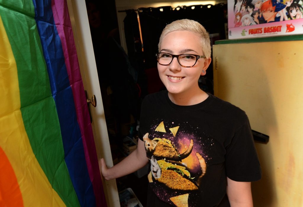 Sara West will be speaking at the Marriage Equality Rally to be held on Sunday. Photo: Chris Ison / The Morning Bulletin