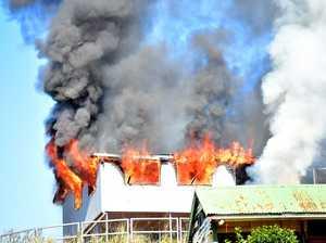 House fire Black Mountain