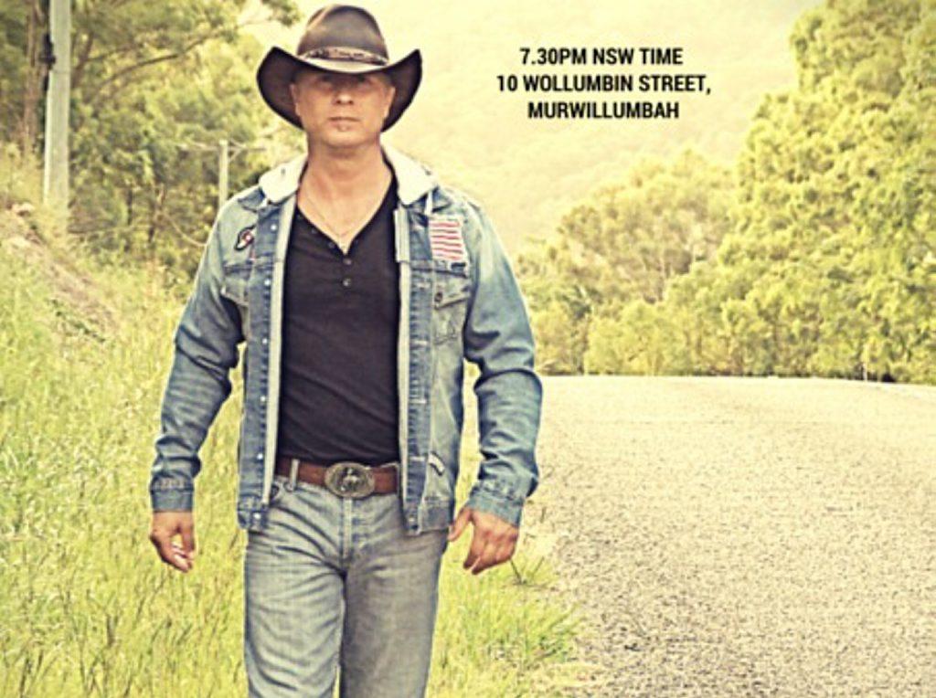 Gold Coast musician Scott Douglas will perform at Murwillumbah Services Club on Friday night.