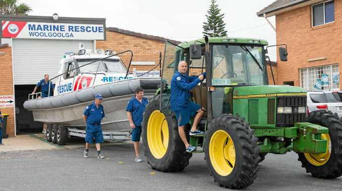 ON THE MOVE: Woolgoolga Marine Rescue is looking for a new home. TREVOR VEALE