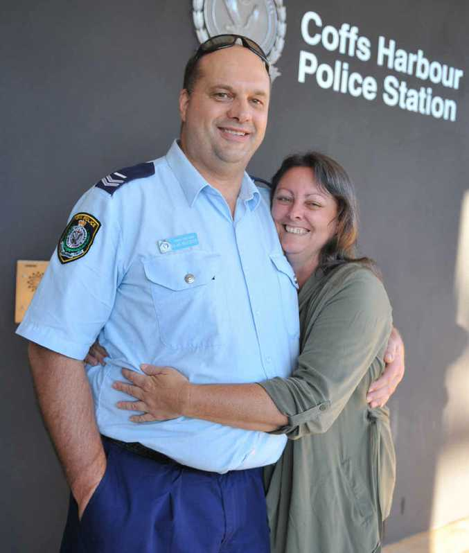 ONWARDS: Senior Constable Alan Millward is looking forward to time with wife Jan in his retirement.