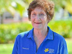 Volunteer arms herself with daffodils to raise funds