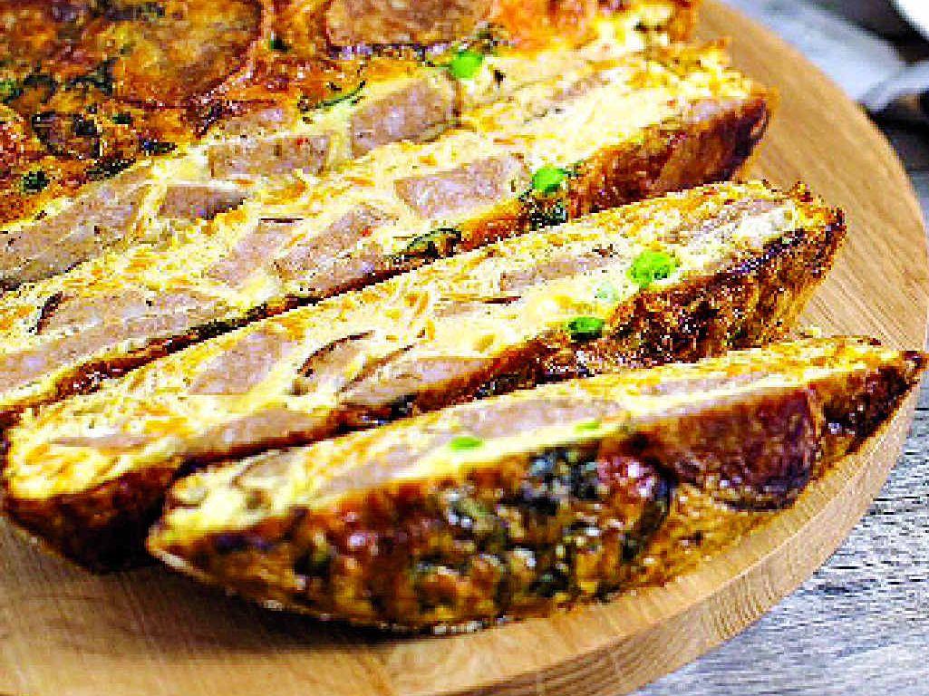 Got leftover sausages? Cook up a frittata.