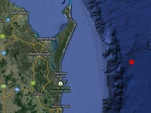 Small earthquake recorded off Fraser Island