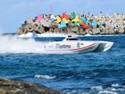 High octane action as superboats roar across the harbour