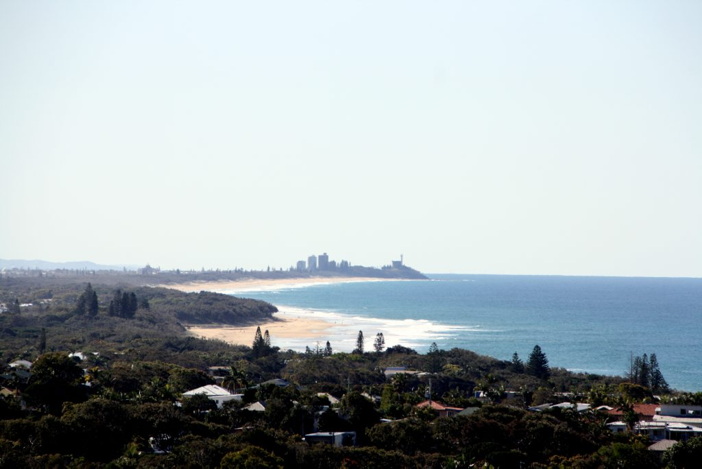 File photo: Point Cartwright where the man was last seen.