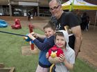 Kids explore university at USQ open day