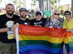 Hundreds march for marriage equality in Rockhampton
