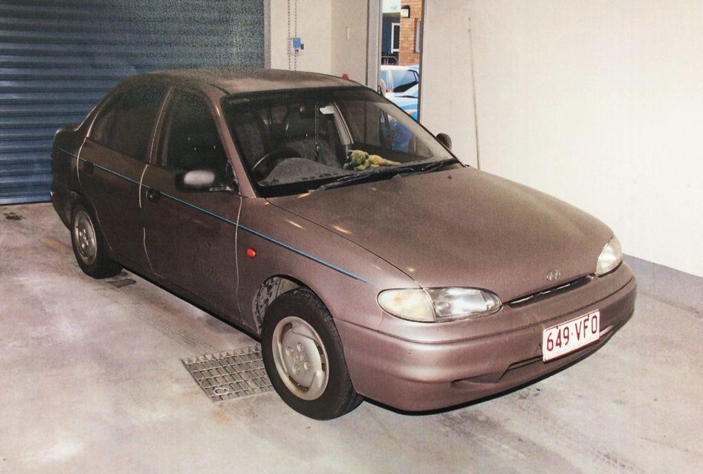 Car of interest. Rodney Wayne Williams. Photo: Contributed