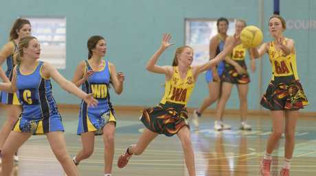 Daily Examiner netball finals Photo Adam Hourigan / The Daily Examiner