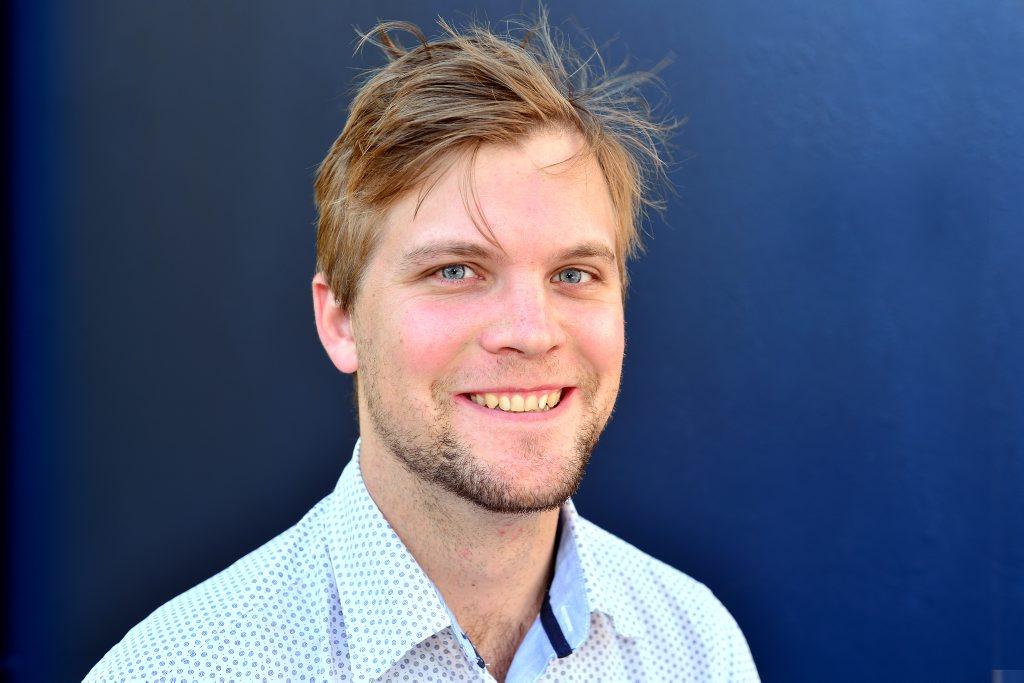 Dominic Geiger. Photo: John McCutcheon / Sunshine Coast Daily