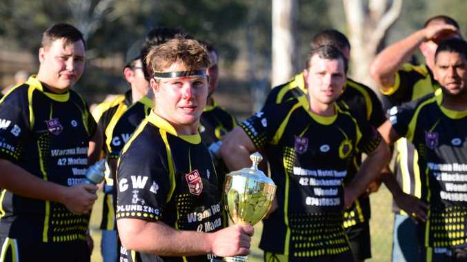 MOVING ON: Last year's Wondai Wolves' captain Luke Hedges is one of a number of players who left the club. Photo Keagan Elder / South Burnett Times