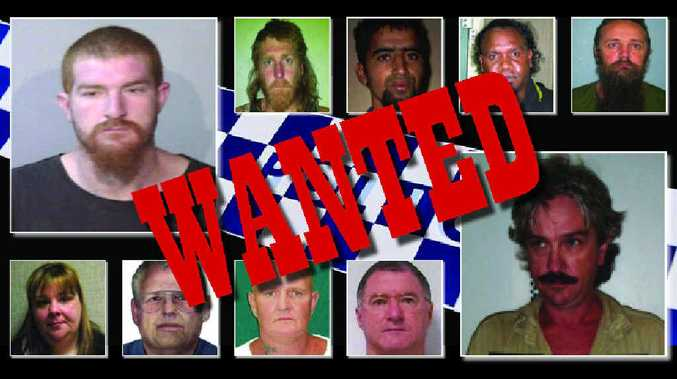 OPERATION ROAM: Taylor John Ware (top left) and Geoffrey Franklin Wallace (bottom right) along with some of the others on the list of Australia's 20 most wanted fugitives.