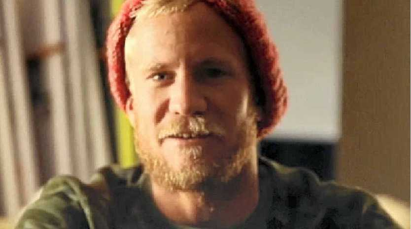 ABOVE: Professional surfer Adam Melling from Lennox Head in the Tracks documentary, The Fatal Coast.