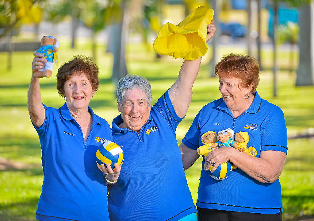 GOOD CAUSE: Gladstone Cancer Council volunteers Maureen Edwards, Pat Perry and Sue Gillard will be among thousands selling daffodils to raise money for the Cancer Council on August 28.