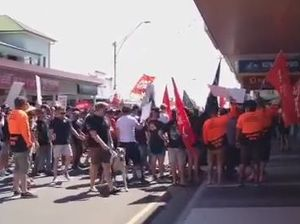 Union rally in Gladstone