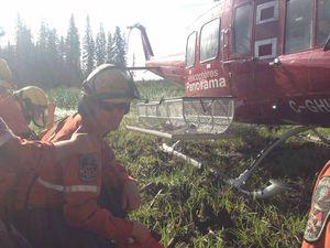 Firefighter Tom helps battle blazes in Canada
