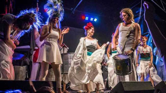 LOCAL ACT: Samba Soul from Bellingen will perform during the festival's locals day.