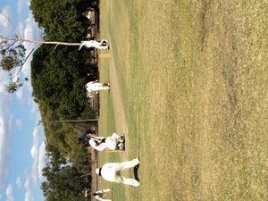 Wanderers cricket match