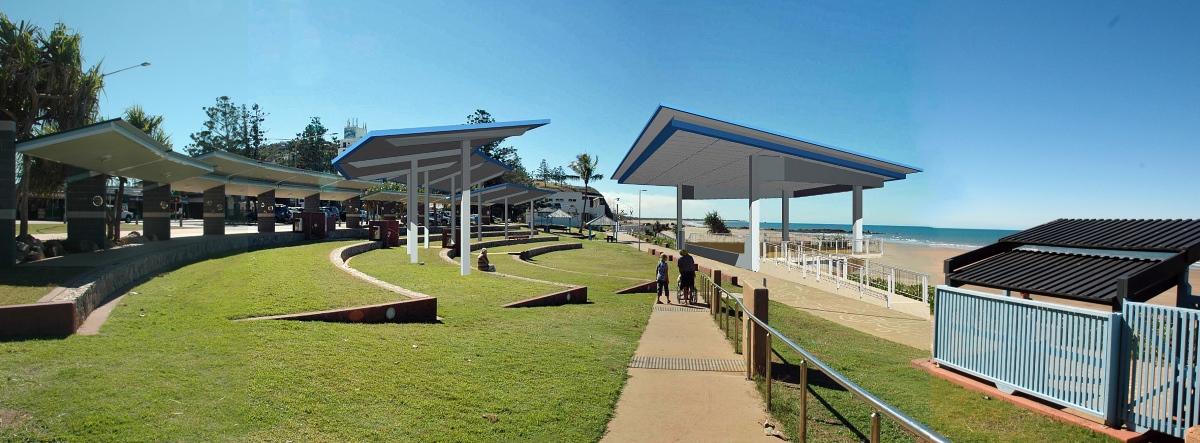 Yeppoon main beach amphitheatre upgrade