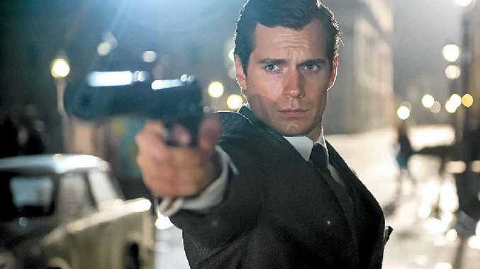 ON THE BIG SCREEN: Henry Cavill in a scene from the movie The Man from U.N.C.L.E.