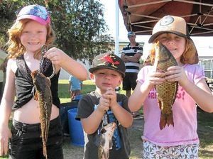 Pest fish and river ruiners targeted in fishing comp