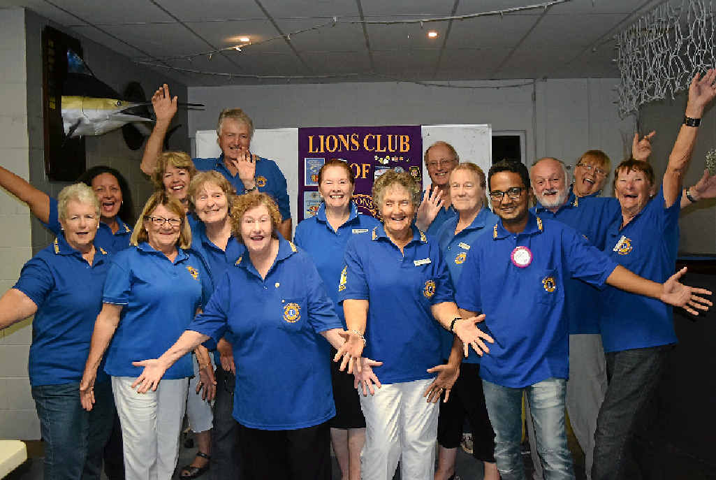 CAUSE TO CELEBRATE: Whitsunday Lions is one of the 10 top club donors in the world.