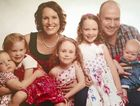 FAMILY TIME: Emerald Baptist Church Pastor Stephen Gellatly has been named Central Queensland's Father of the Year. He is pictured with his wife Deb and their children Grace, 6, Ella, 4, Tahlia, 3, Sian, 2, and Isaac, 1.