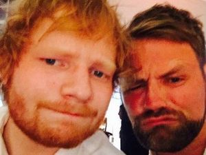Ed Sheeran performed at Ronan Keating's wedding