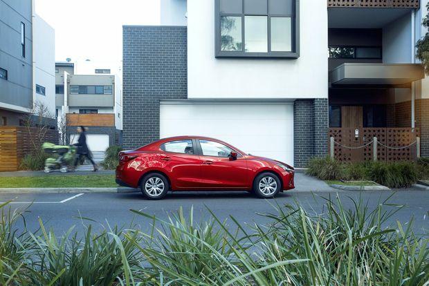 2015 Mazda2 Sedan. Photo: Contributed