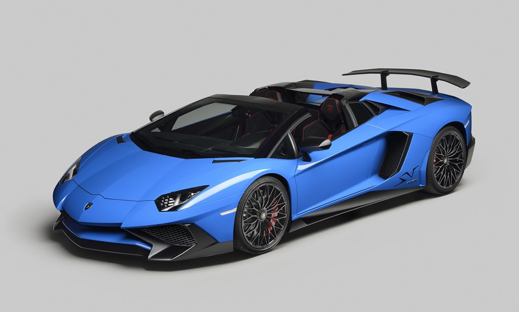 SUPERCAR SHOPPING: Low oil prices are here to stay and hopefully cheap fuel too: how about that Lamborghini Aventador Superveloce Roadster you've always wanted?
