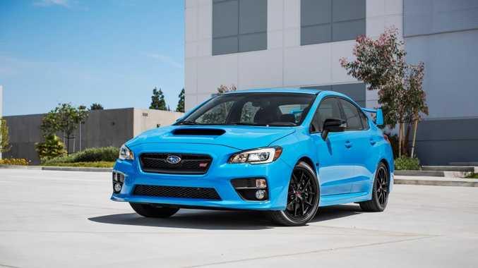 SUBARU Vs VOLVO POLESTAR LOVECHILD? Not quite. Special edition Hyper Blue Subarus are coming: 200 WRX Premiums, 50 WRX STIs and 50 BRZs set for Australia
