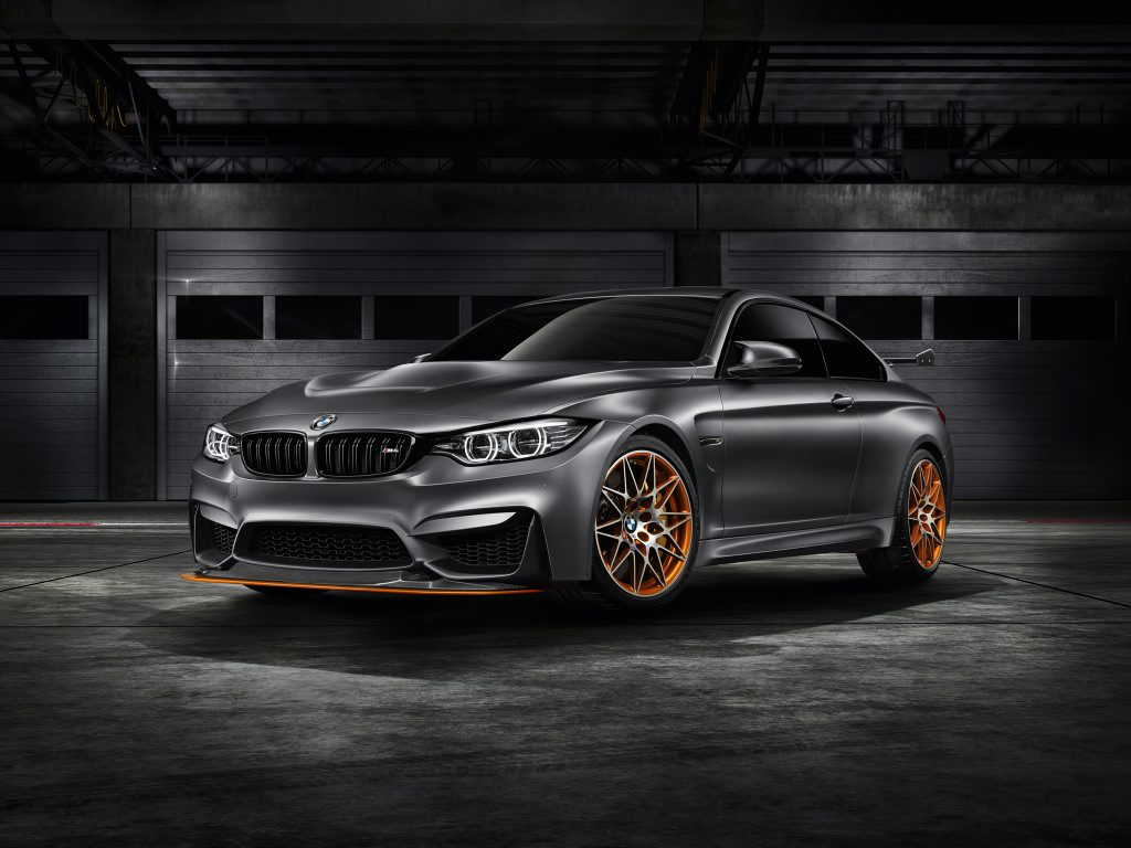 PRODUCTION POSSIBLE: The BMW M4 GTS would follow a long line of road-going but track-focussed M3s.
