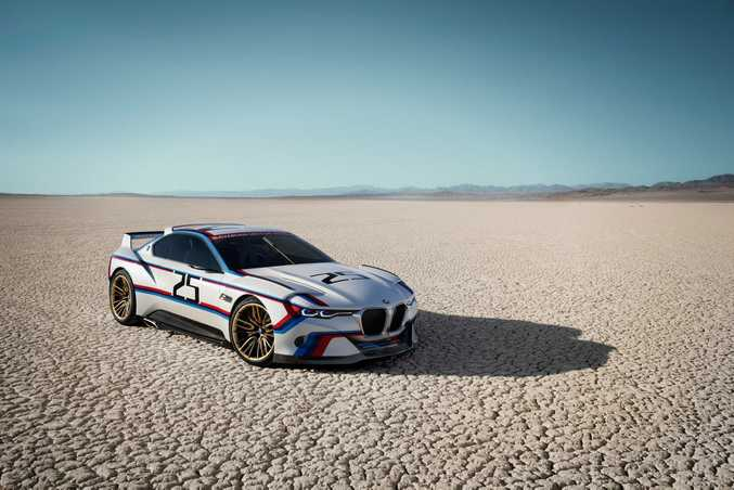 BMW 3.0 CSL Hommage R. Photo: Contributed
