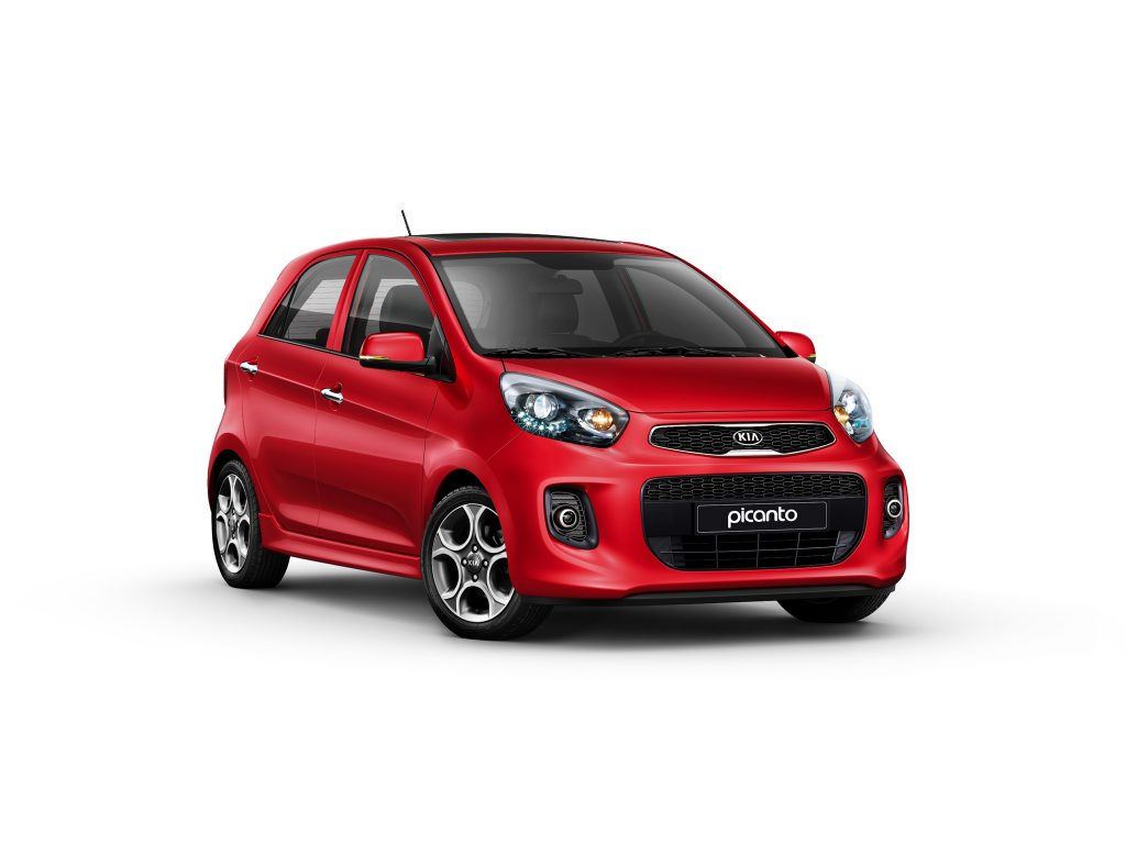 LITTLE CHARMER: Kia's baby Picanto will arrive in Australia in early 2016 in one model only - a 1.2-litre with auto gearbox - and should cost $14,990