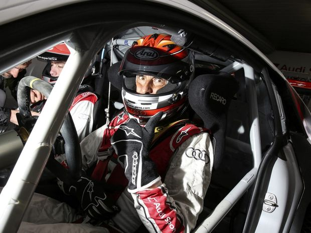 LE MANS CHAMP: 5-time 24-Hour winner Emanuele Pirro is not a bad guy to have dishing out the advice