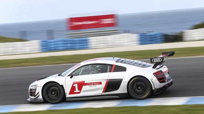 PERFECT SETTING: Audi R8 at home on the Phillip Island circuit, ideal for Audi Sport customers