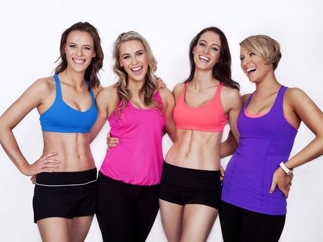 Annie Katherine Rachel and Fiona Johnson from Ipswich have created new fitness sensation TAPfit.