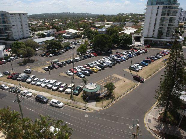 The Brisbane Road car park