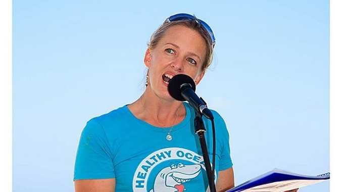 Natalie Banks, National Shark Campaign Coordinator, Sea Shepherd Australia.