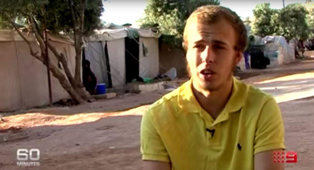 Current Affairs program 60 Minutes interviews Oliver Bridgeman.