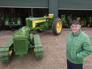 Trevor's John Deere tractors to go under the hammer