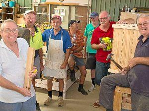 Coffs Coast Men's Sheds praised in federal parliament