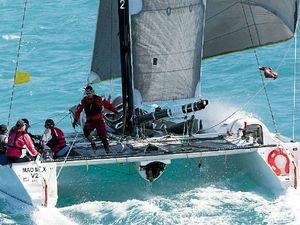 Pre-start collisions brought three multihulls ashore