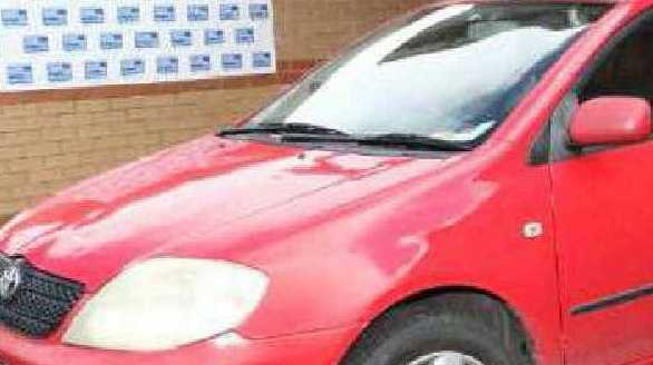 HAVE YOU SEEN THIS CAR?: Jayde Kendall was seen getting into this vehicle before she disappeared on August 14.