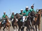 WATCH: Getting dirty on the field in polocrosse